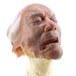 Burt Landau's (Larry Hagman) Special Effects Insert Head - NIP/TUCK (2003 - 2010)