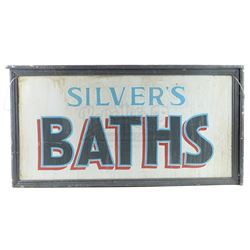Silver's Baths Double-Sided Exterior Sign - BOARDWALK EMPIRE (2010 - 2014)