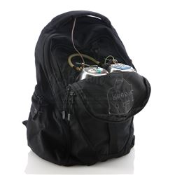 Doomsday Killer's (Colin Hanks) Wormwood Device Backpack - DEXTER (2006 - 2013)