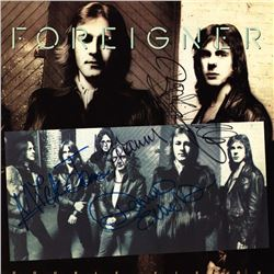 Foreigner Signed Double Vision Album