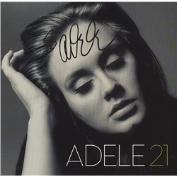 Adele Signed 21 Album
