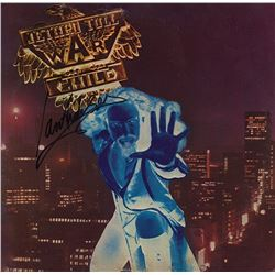 Jethro Tull's Ian Anderson Signed War Child Album