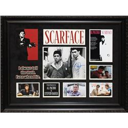 Scarface Framed and Signed Photo Collage