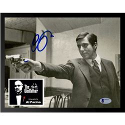 Al Pacino Signed The Godfather Photo