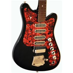 The Grateful Dead Band Signed Blackened 1950 – 1960s Poctob Cmerra Red Pearly Pick Guard Vintage G