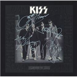 Kiss Band Signed Dressed To Kill Album