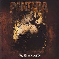Pantera Signed Far Beyond Drive Album