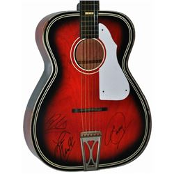 The Bee Gees Signed Acoustic Guitar
