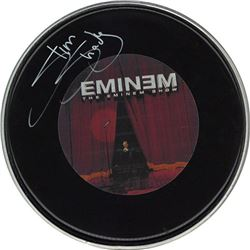 Eminem Signed Drum Head