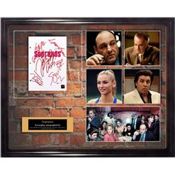 Sopranos Signed Screenplay