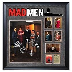 Mad Men Signed Collage