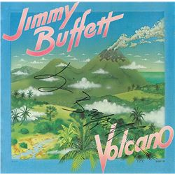 Jimmy Buffett Signed Volcano Album