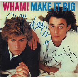 Wham Signed Make It Big Album