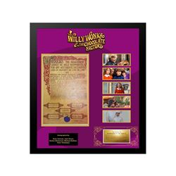 Willie Wonka Golden Ticket Collage