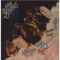 "The Isley Brothers ""The Heat Is On"" Signed Album"