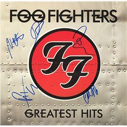 Foo Fighters Signed Greatest Hits Album