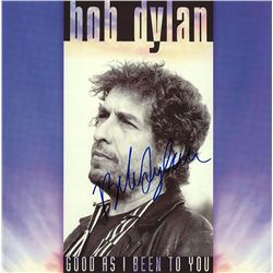 Bob Dylan Signed Good as I Been to You Album