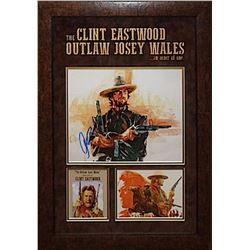 Clint Eastwood Signed Photo Collage