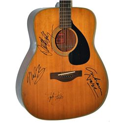 Crosby Stills Nash And Young Band Signed Acoustic Guitar