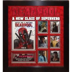 Deadpool Signed and Framed Photo Collage