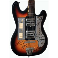 Creedence Clearwater Revival Signed Guitar