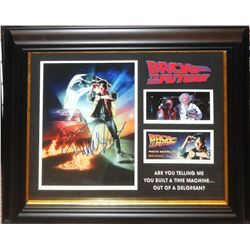 Michael J. Fox Signed Back to the Future Photo Collage