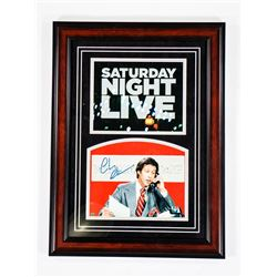 Chevy Chase Signed SNL Photo