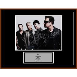 "U2 ""Group"" Signed Poster"