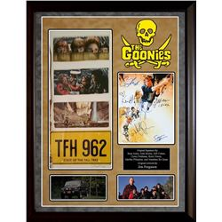 The Goonies Framed and Signed Photo Collage