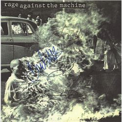 Rage Against The Machine Signed Self-Titled Album