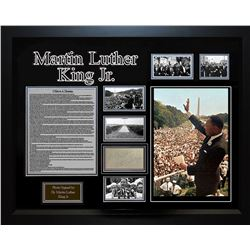 Martin Luther King Jr. Framed Signature Collage