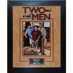 TWO AND HALF MEN  Signed Photo