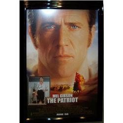 The Patriot - Signed Photo in Movie Poster