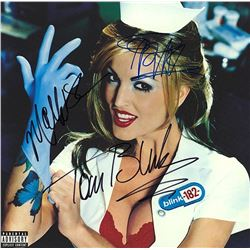 Blink 182 Signed State of Enema Album