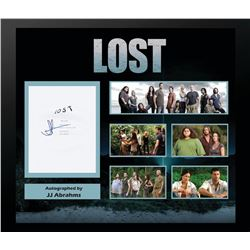 Lost Signed Screenplay