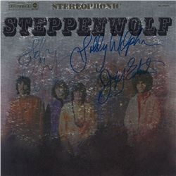Steppenwolf  Signed Self-Titled with Metallic Foil Cover Album