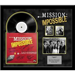 Mission Impossible Signed Soundtrack