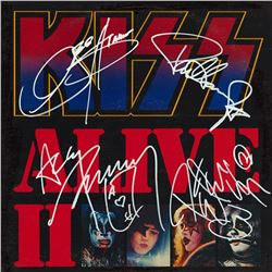 KISS Signed KISS Alive II Album