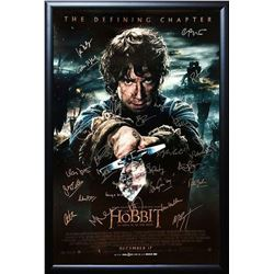 The Hobbit - The Battle of the Five Armies - Signed Movie Poster