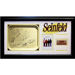 Seinfeld Framed Signed Tray Collage