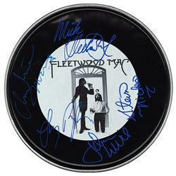 Fleetwood Mac Signed Drum Head