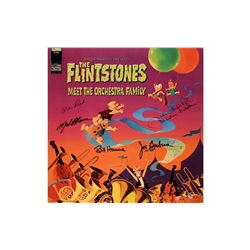 The Flintstones Signed Meet the Orchestra Family LP