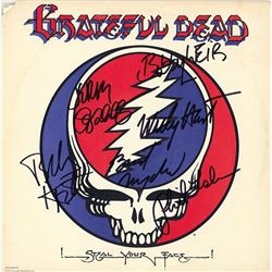 Grateful Dead Band Signed Steal Your Face Album