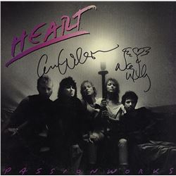 Heart Band Signed Passion Works Album