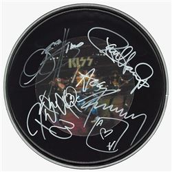 KISS Signed Drum Head