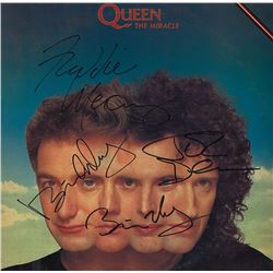 Queen Signed The Miracle Album