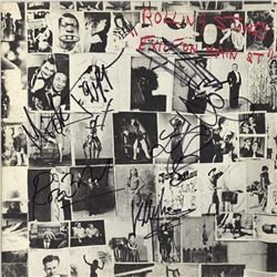 Rolling Stones Signed Exile on Main Street Album
