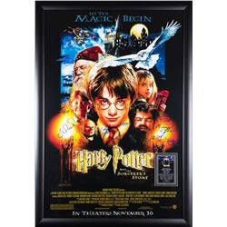 Harry Potter And The Sorcerer's Stone - Signed Movie Poster