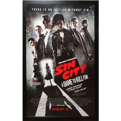Sin City - Signed Movie Poster