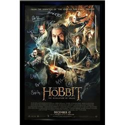 The Hobbit - The Desolation of Smaug - Signed Movie Poster